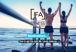 International Fitness Academy - Fitness Blog, motivation, worklifebalance