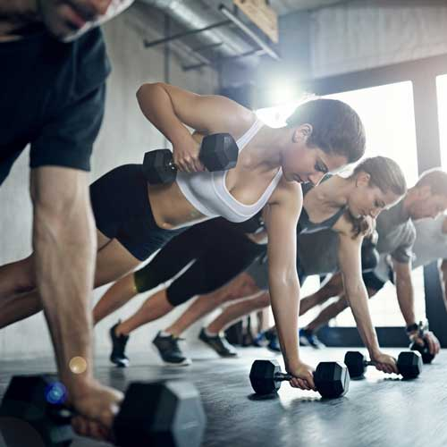 International Fitness Academy -Bar Bell Push Ups
