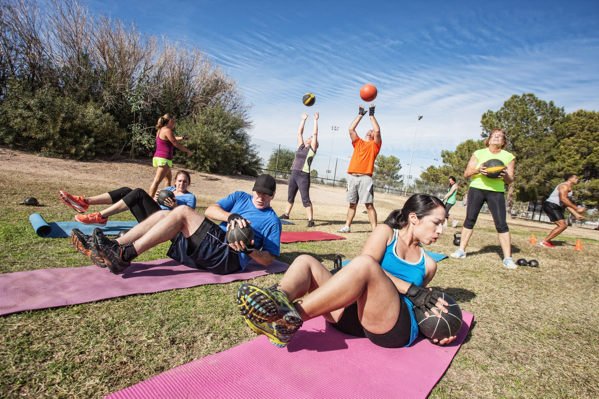Benefits Of Incorporating Outdoor Training Into Your Client's Sessions