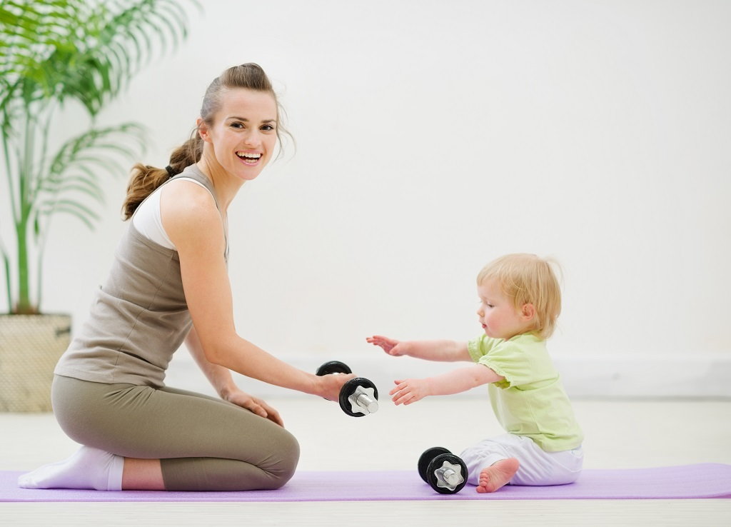 Top tips for working out while looking after a newborn