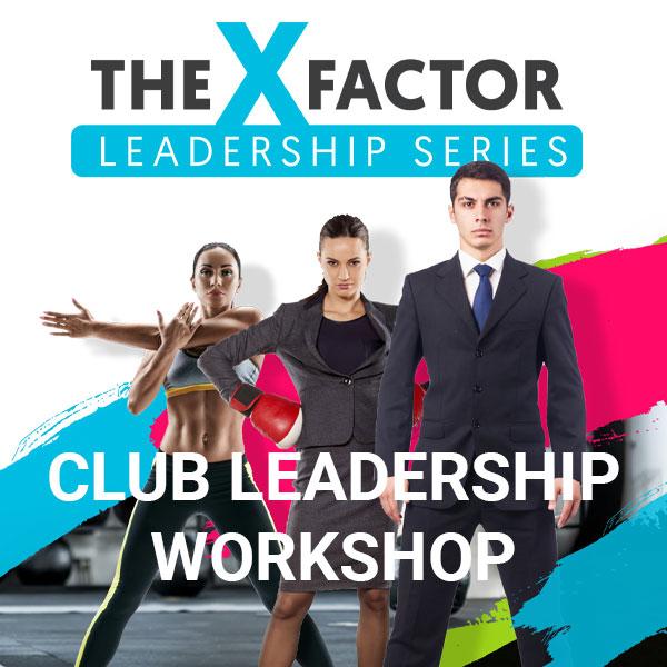 X-Factor Leadership – Club Leadership Three-Part Webinar Series